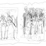 Die fünf Skelette aus Großhöbing [Steuer, 355]