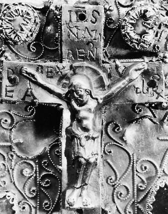 Das kleine Kreuz auf dem Osnabrücker Kapitelkreuz [osnabrück]