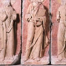 Christus zwischen Maria und Johannes, St. Pantaleon und Erzbischof Bruno [schnütgen]
