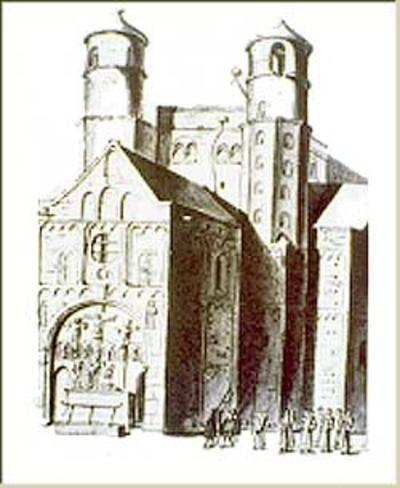 Westbau von St. Pantaleon [kirchen]