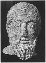 Fragment einer Christusstatue vom Westbau St. Pantaleons, 990‒1000 [Günther Binding [2011, 102]]