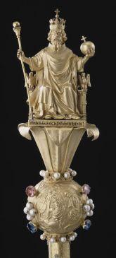 Zepter Karls V., um 1370 [szeptre]