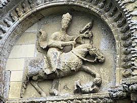 Kirche St-Pierre, Parthenay-le-Vieux, um 1100 [artroman.net]